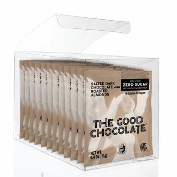Salted Almond Chocolate 12 Square Gift Pack
