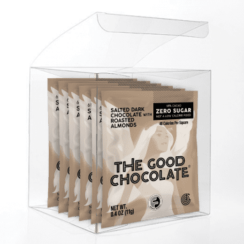 Salted Almond Chocolate 6 Square Gift Pack